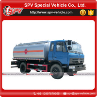 World widely using two axle 4x2 drive Dongfeng oil tanker owners