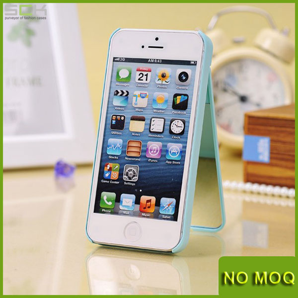 Stylish hard mirror mobile phone cover case for iphone 5 5s