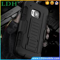 M7/M8/M9 Impact Rugged Kick-stand Armor Case Belt Clip For HTC One M7/M8/M9 Military Anti-Skid Heavy Duty Hybrid 3 in 1 BagCover