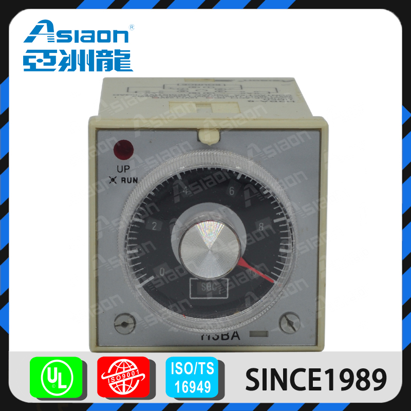 ASIAON Free Sample Wenzhou Supplier Wholesale Electronic H3BA On Delay Timer Relay 12V
