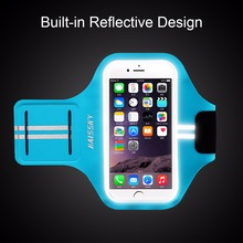 Alibaba Haissky For iPhone X Armband Sport Running Exercise Gym Sportband Case with armband case water resistance for iPhone X