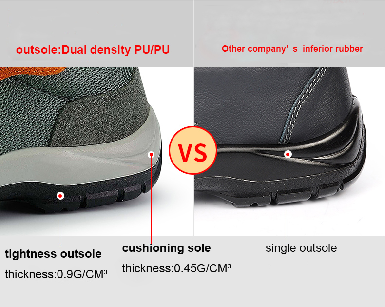 wholesale high quality military boots mens steel toe safety shoes factory