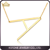 KSTONE Fashion Letter Necklaces Pendants Alfabet