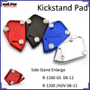 BJ-SSE-BM003 Motorbike r1200gs Side Stand Enlarge motorcycle parts kickstand pad for bmw r 1200 gs 08-12