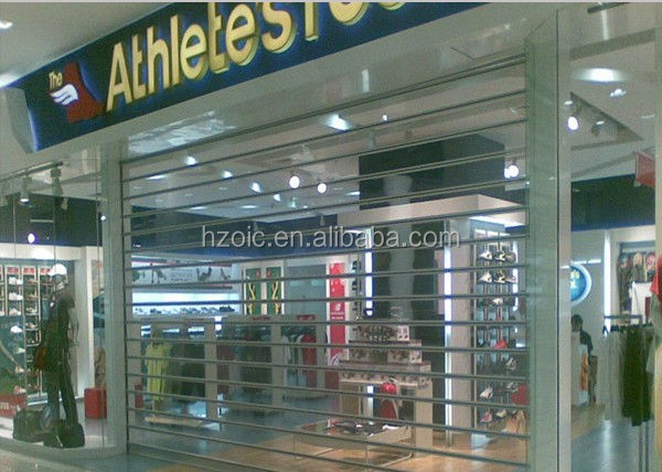 Manufactory Supply Crystal Roller Door For Shop Front Use