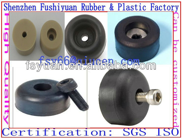 OEM ODM ISO ROHS SGS certified top quality precision 2 inch rubber feet for ladders