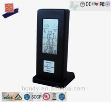 Hondy Multifunctional DCF Version LED Weather Forcast Station With Alarm & Snooze Function Wholesale