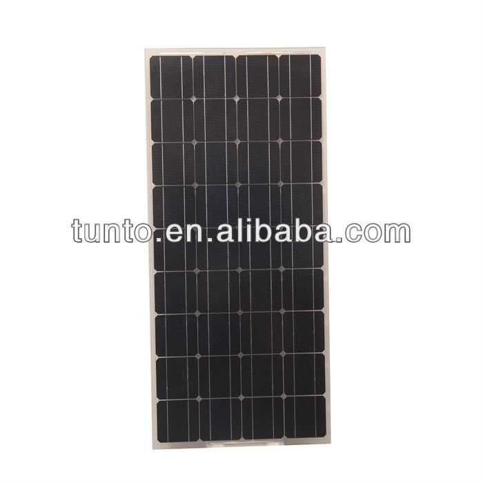 New design 120W 12V new design mono solar panel price 70usd/pcs