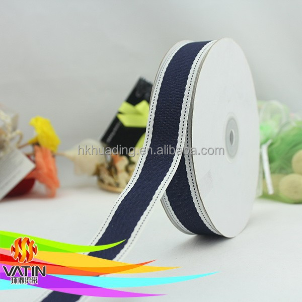 Wholesale Custom High Quality Personalized Cotton Ribbon