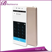 Enjoy mobile phone with Cubot X9 5.0inch 1280X 720 IPS MTK6592 Octa Core GPS WIFI BT camera Dual SIm Cubot X9 cell phone