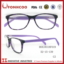 FONHCOO In Stock Free Samples Fashionable Korean Design Acetate Optical Optica Frame