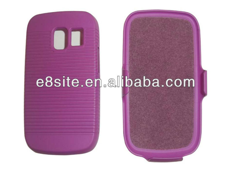 For Nokia Asha 302 3020 Holster Combo Case with kickstand