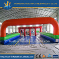 Popular inflatable horse hopping game/jumping horse racing