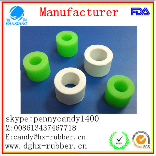 Dongguan factory customed rubber feet cover