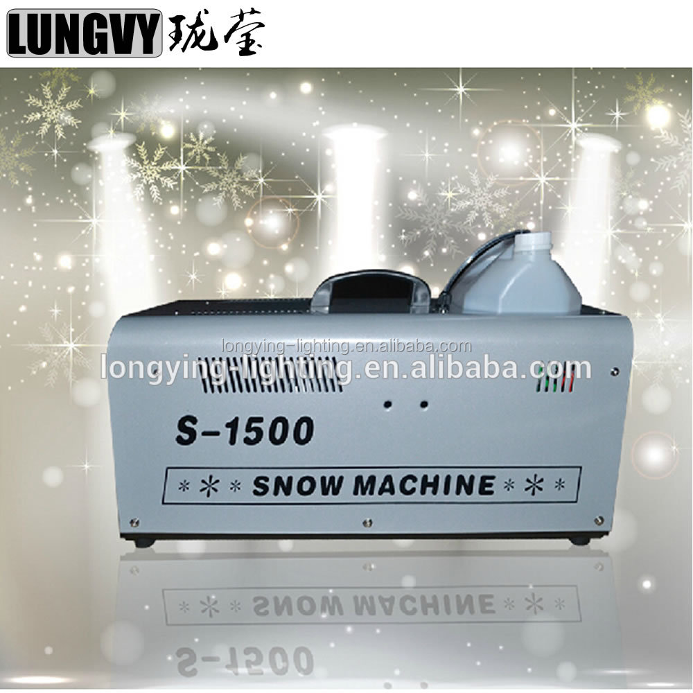 1500W Snow Machine 1500W Stage Light Snow Machine Wedding Snow Machine