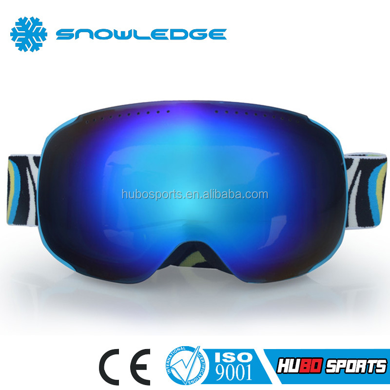 Lastest New Design Interchangeable Lens Ski Snow Glasses Goggles HB-181