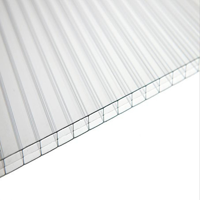 UV Proof Multiwall Polycarbonate Honeycomb Sheet Hollow Panel Manufacturer