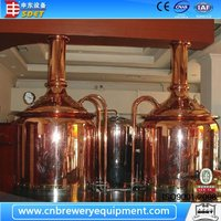 Red Copper Electric Beer Brew Kettle For Sale