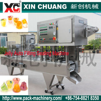 15g jelly auto cup filling machine CFD-12