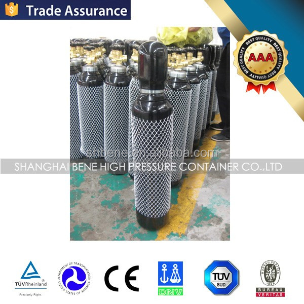 3L Seamless Steel Gas Cylinder Small Portable Oxygen Cylinder Price