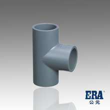 ERA Water Supply High Pressure Pipe Fitting PVC Pipe Fitting SCH40 Tee