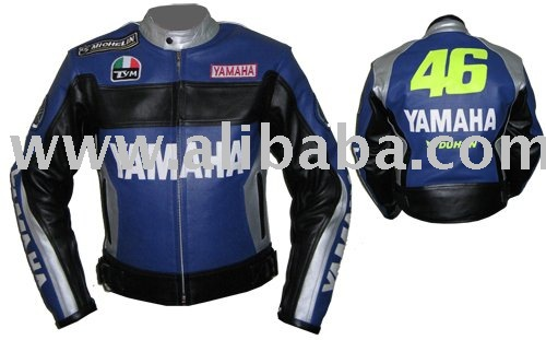 Y-46 Motorbike Leather Jacket Suit Trouser Boots Gloves