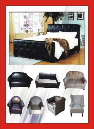 Leather Soffa