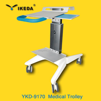 hospital medication delivery cart / nursing movable trolley and carts