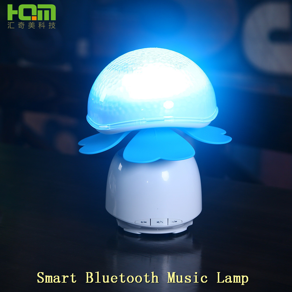 clover Smart lamp hand touch bluetooth music Aluminium Material Led Night Light