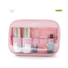 high quality travel transparent packaging pvc clear plastic makeup bag