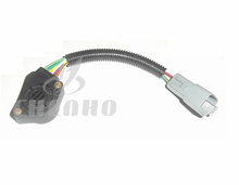 For Volvo Truck Accelerator Pedal Sensor,6 Wires Throttle Position Sensor,3958226 Heavy Duty Truck Parts
