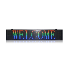 P10 <strong>RGB</strong>(SMD) led moving message display outdoor led message display