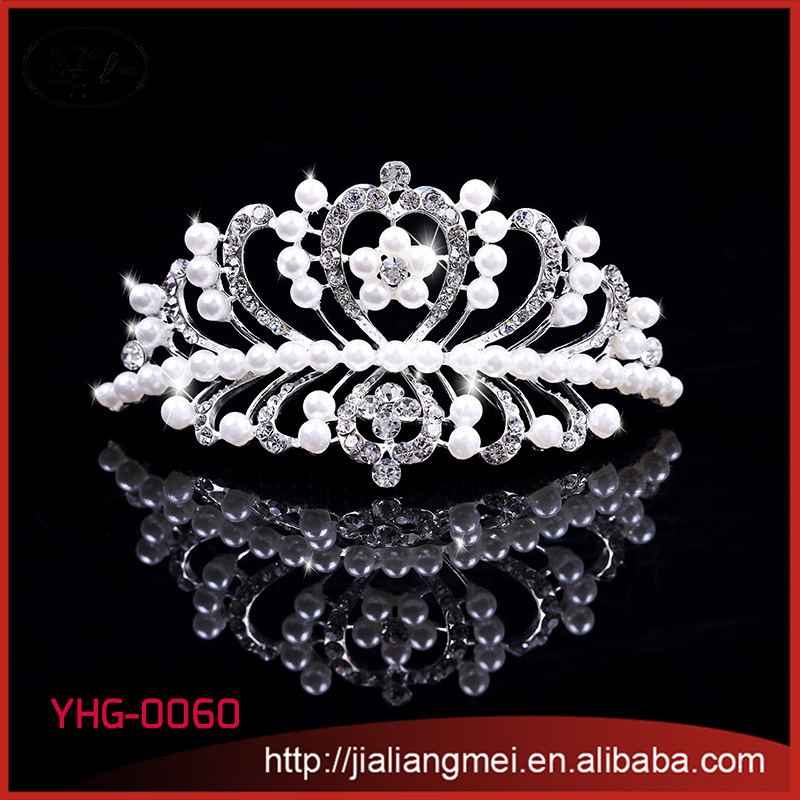 Fashion Various Crystal Silver Flower Wedding Pageant Flower Bridal Tiara