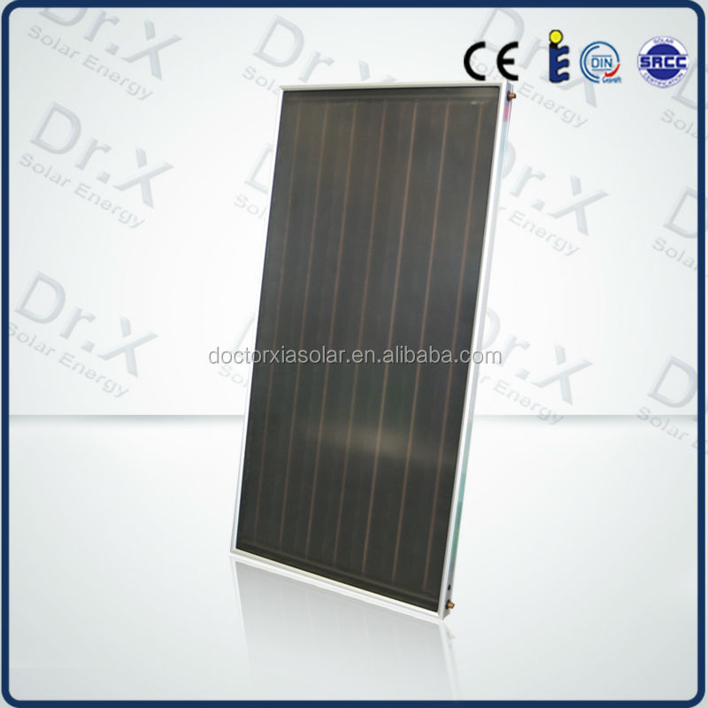 swimming pool heating flat plate solar thermal collector