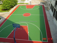 Best price solid acrylic Acid basketball court flooring materials