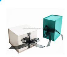 New Watch Cosmetic Jewelry Packing Paper Gift Box with ribbon