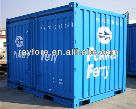 10ft dry van container