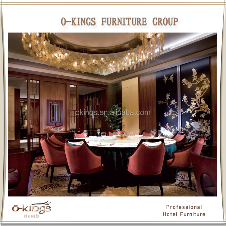 High end wholesale chinese restaurant furniture for sale