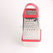 Kitchen cooking tools fruit and vegetable tools soft round Four sides grater & zester with box