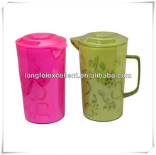 2013 popular plastic jar set with 4 cups pet water bottle