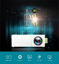 Komay hottest high quality mini portable projector build in battery projector YG310+