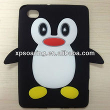 Smart penguin cover case for Samsung Galaxy Tab P6800