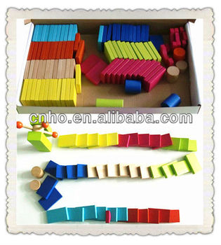 Wooden Domino Toys