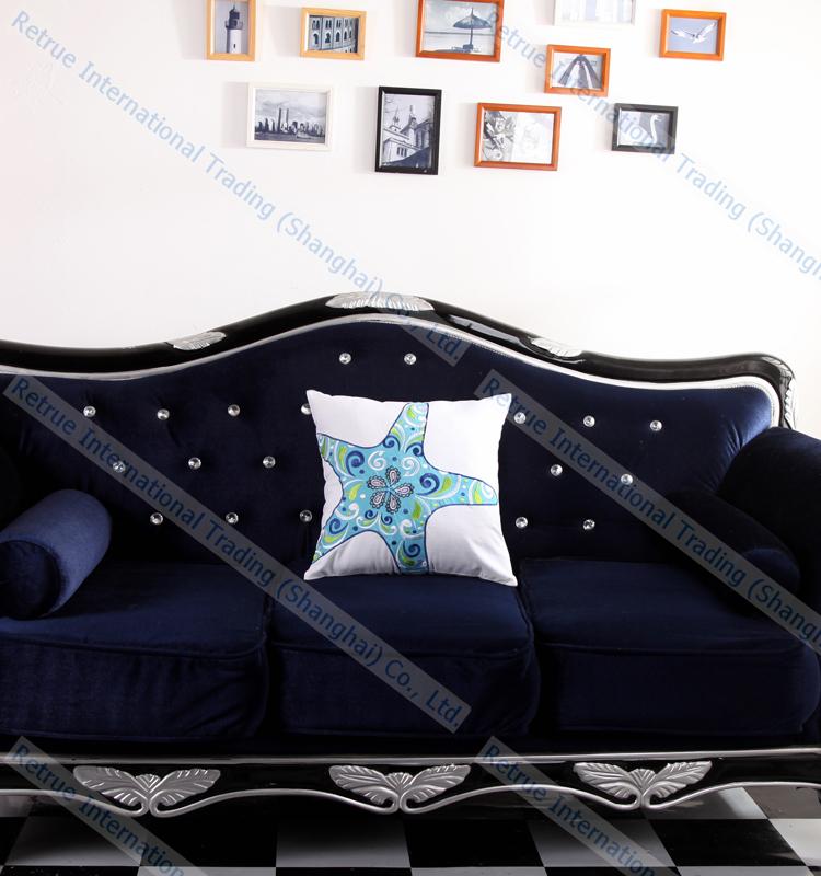 Ricamato stella marina cuscino economici cuscini decorativi per il divano cuscino id prodotto - Cuscini decorativi per divano ...