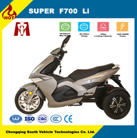 Super F700,Cheap prices from china electrical bike dual motor electric tricycle for sale