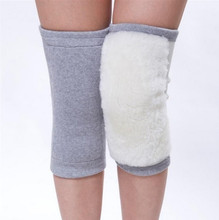 100% wool knee motorcycle protector Winter Warmth Adjustable Cashmere Wool Knee Wrap Brace / Knee Support