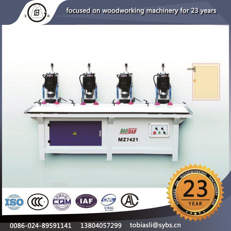 MZ-74214 China supplier cost-effective log simple operation polishing wooden veneer deep hole drilling machine