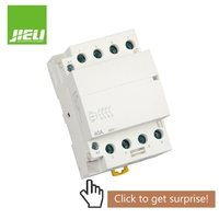 high quality 4NO 40A Din Rail Contactor