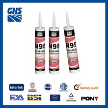 Acetic silicone spray rubber adhesive sealant