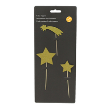 247528 Best reusable customized star shaped cake toppers